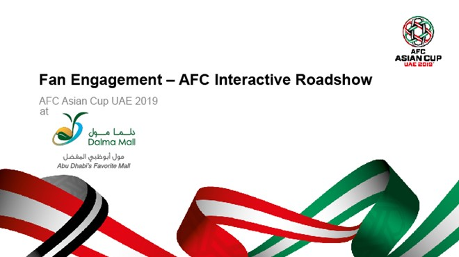 AFC ASIAN CUP 2019 INTERACTIVE ROADSHOW