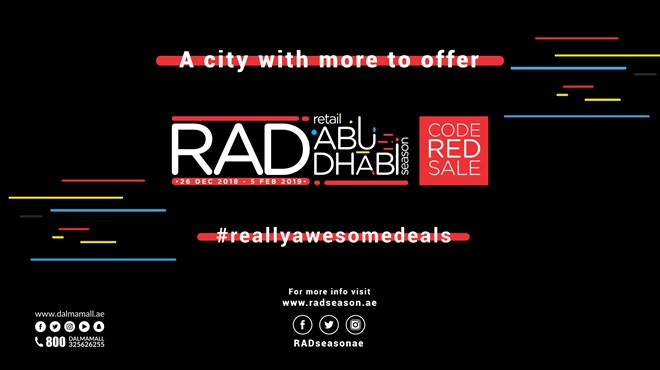 RAD Season – Code Red Sale Campaign