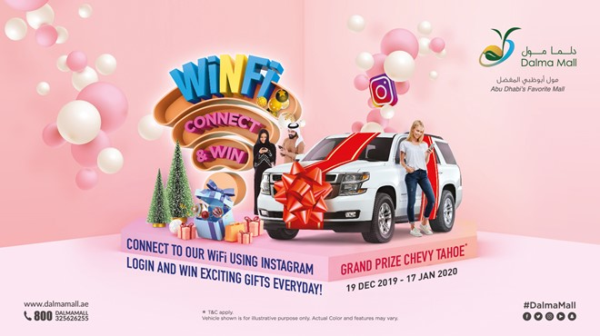 WiNFi - Connect & Win