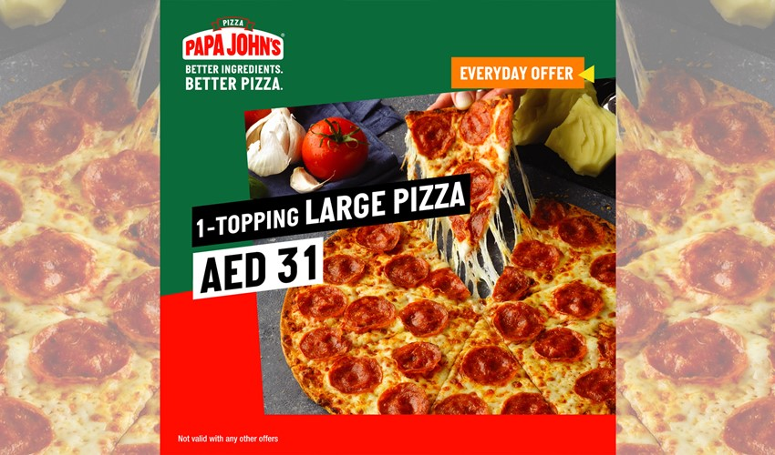 Papa Johns Daily Offer